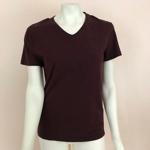 Zara | Essentials Relaxed Fit V Neck Tee